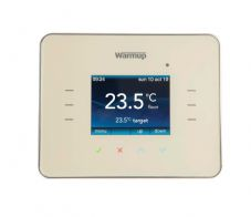 Warmup 3ie Digital Touchscreen Thermostat Classic Cream